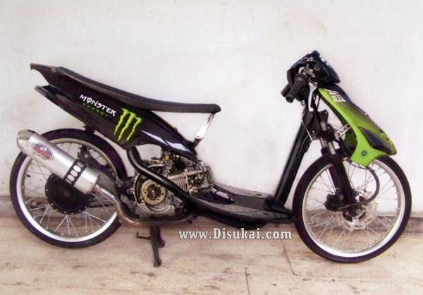 modifikasi motor mio 2006  tahun ini