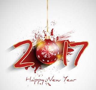 Happy New Year 2017 In Hebrew