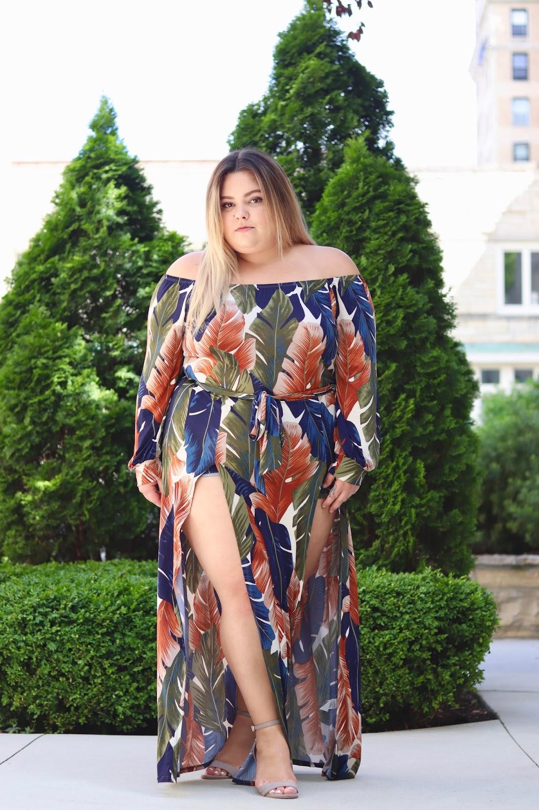 Natalie Craig printed maxi blouse