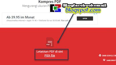 cara mengurangi ukuran pdf