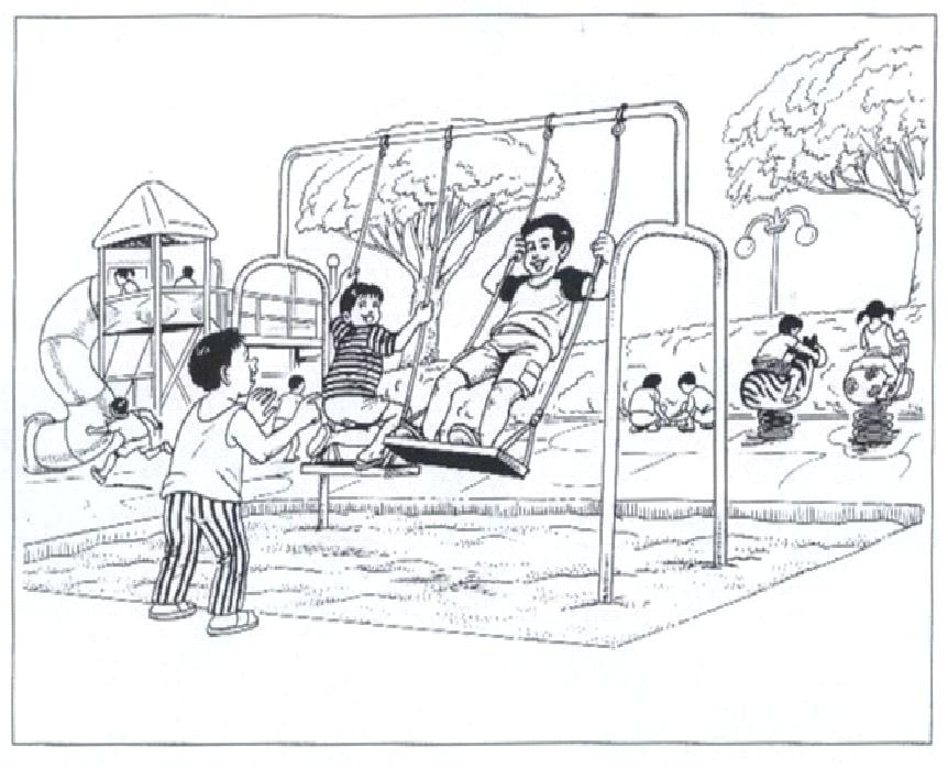 6-8 2011: Oral Practice - At a Playground