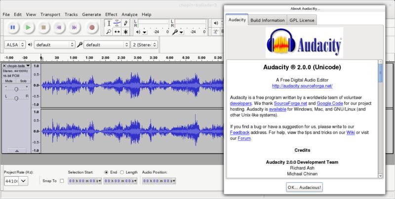 edit mp3 in ubuntu using audacity