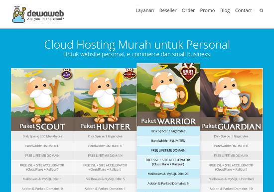 Layanan Web Hosting Terbaik Dengan Harga Terjangkau