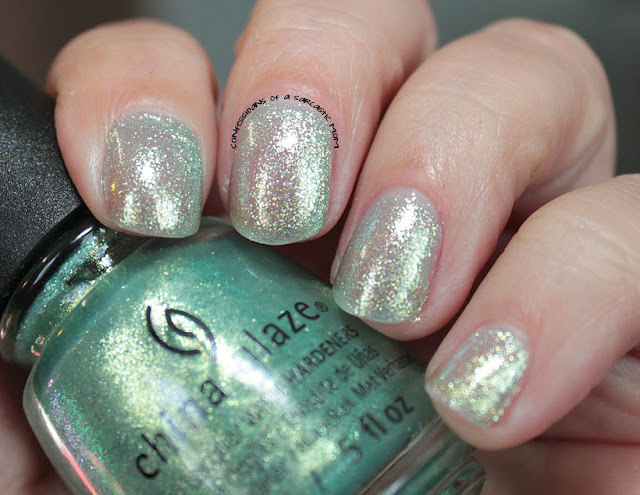 China Glaze Seas and Greetings collection - Twinkle Twinkle Little Starfish