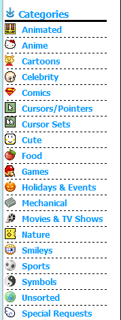 cursors-4u.com category