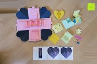 Erfahrungsbericht: Yilyln Explosionsbox, DIY Kreative Überraschung Box Handgemachtes mit Guide Fotoalbum zum Selbstgestalten Schwarze Seiten Scrapbook, DIY Hochzeit Jahrestag Geburtstags Weihnachten Geschenkbox