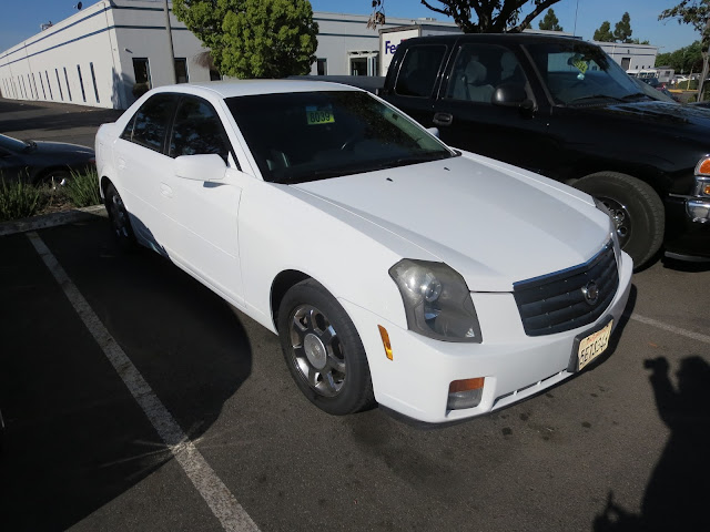 Cadillac CTS color change at Almost Everything Auto Body