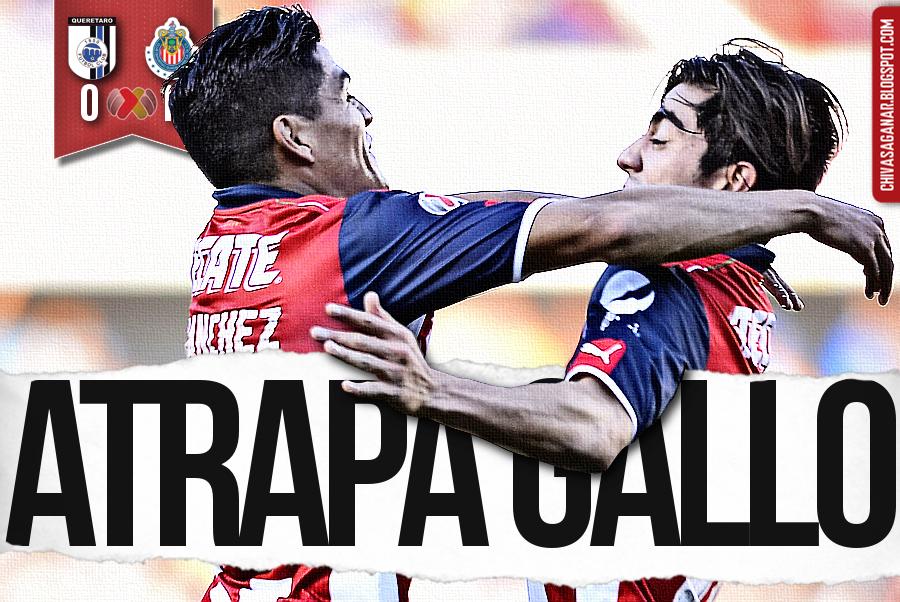 Liga MX : Querétaro FC 0-1 CD Guadalajara - Clausura 2017 - Jornada 4.