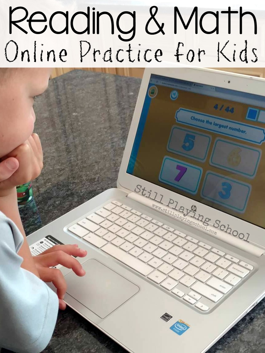 Reading & Math Practice Website for Kids | Still Playing School