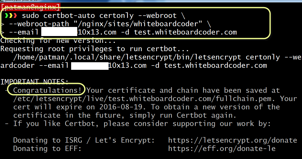 WhiteBoard Coder: Let's Encrypt HAProxy