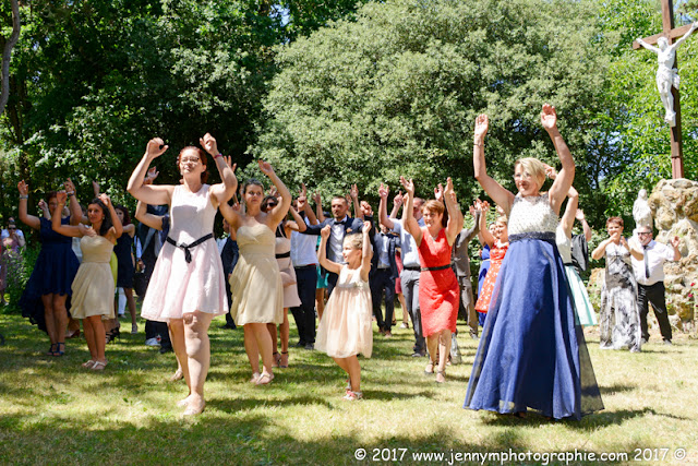 flash mob cocktail mariage