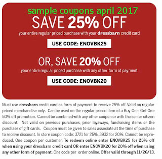 Dress Barn coupons for april 2017