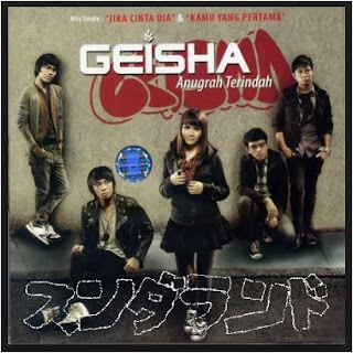 Album Lagu Geisha Anugerah Terindah Mp3 Full Album Rar 2009,Momo (vokal), Roby (gitar), Nard (Bass), Dhan (keyboard), dan Aan (drum), Mantablagu, Mantab Lagu,