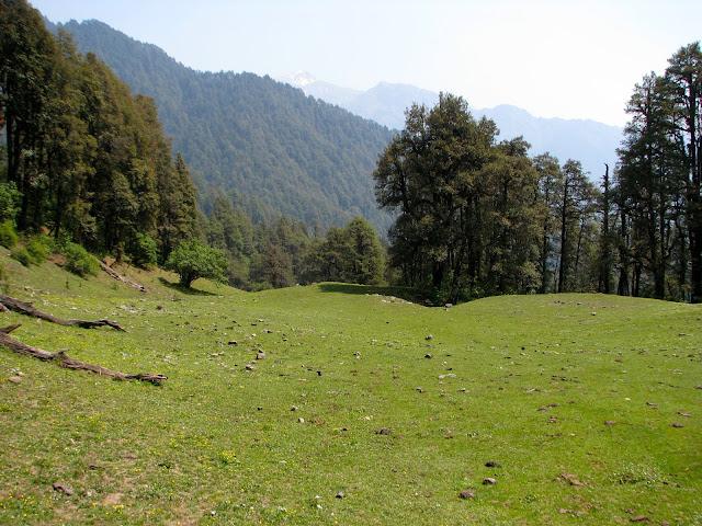 Views from Barnala bugyal