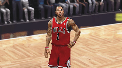NBA 2K13 Best Derrick Rose Face Patch