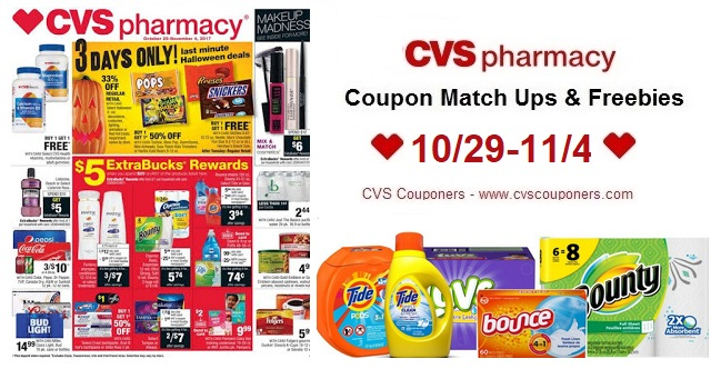 http://www.cvscouponers.com/2017/10/cvs-coupon-match-ups-freebies-1029-114.html