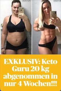 Abgenommen 20 haut kg EXKLUSIV:KETO DIET