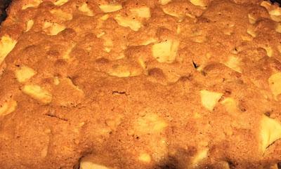 Chunky Apple Snack Cake