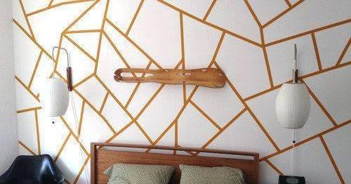 Dekorasi Dinding Menggunakan Kertas Pelekat Blog Sihatimerahjambu