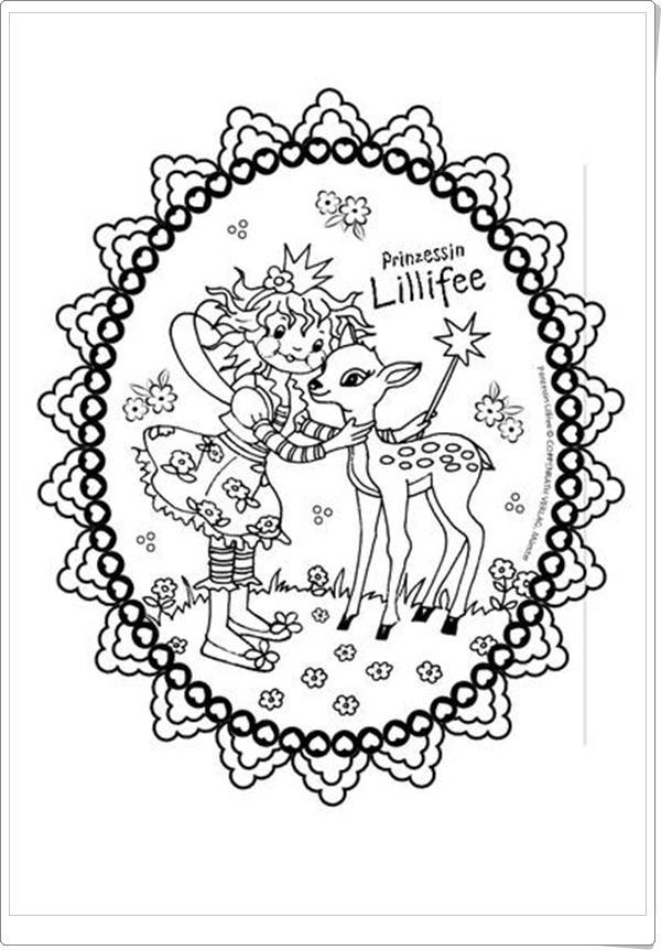 Ausmalbilder zum Ausdrucken Ausmalbilder Lillifee