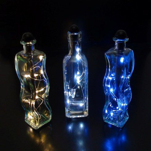 battery operated lights for wine bottles