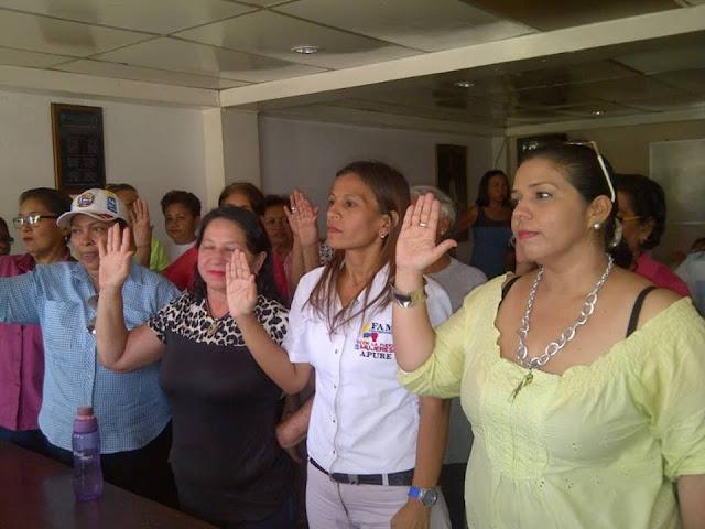 APURE: Conozca la directiva recién juramentadas del frente amplio de Mujeres de San Fernando.