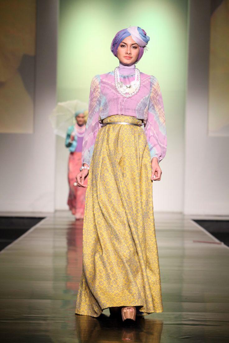 model kebaya muslim yang trend di tahun 2016   kumpulan