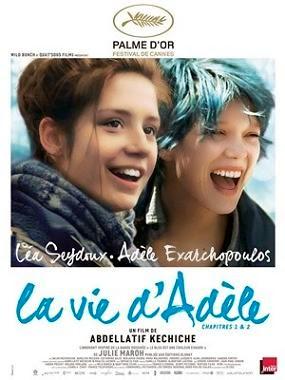 cartel de la película La vida de Adèle