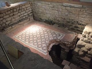 Chedworth Roman Villa Mosaic