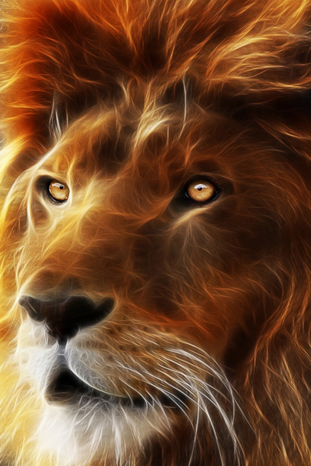 HD 3D Lion King Wallpapers for iPhone 4