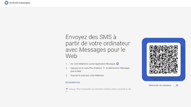 messages.android.com على الــPC