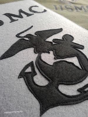 эмблема USMC