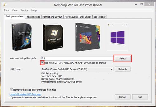 Cara Membuat Bootable OS Dengan WinToFlash