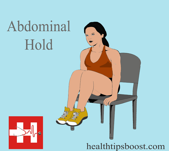Abdominal exercise.This will develop your ability to sustain contractions  of abdominal muscles