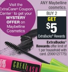 maybeline coupons