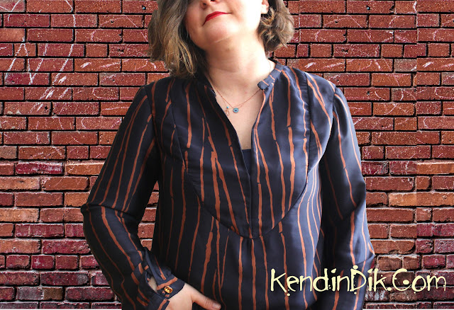 Burda Style, 09/2010, blouse pattern, 109, sewing blog
