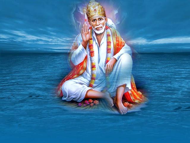 Best Lord Sai Baba Full Size HD Wallpaper
