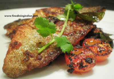 kerala fried fish rainbow trout best image and recipe from finediningindian.com