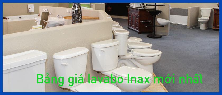 Bảng gía lavabo Inax chiết khấu cao hấp dẫn