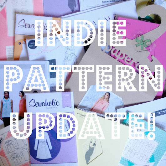 September Indie Pattern Update!