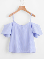 http://fr.shein.com/Pinstripe-Cold-Shoulder-Top-p-352898-cat-1733.html