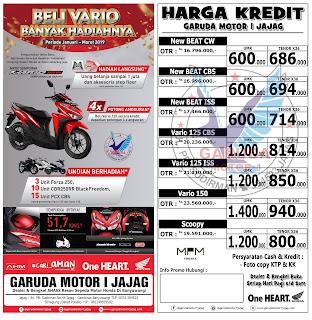 brosur kredit sepeda motor honda banyuwangi