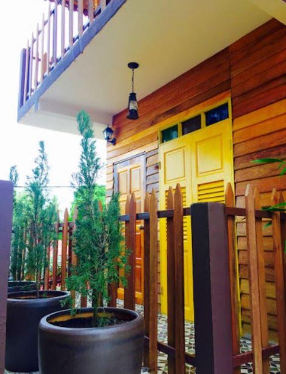 Kampong Pinang Sebatang Chalet kemudahan pelancong