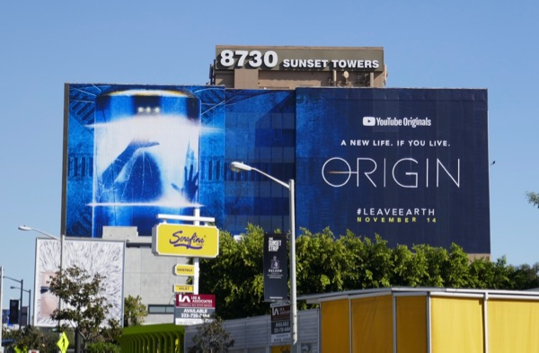 Giant Origin YouTube series billboard