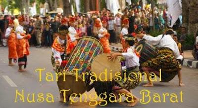 tari tradisional nusa tenggara barat