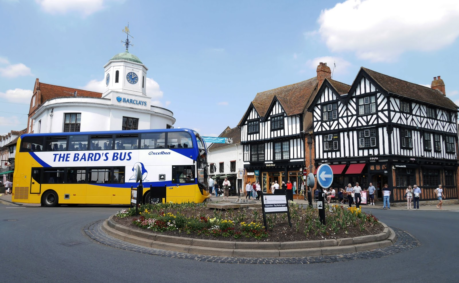 The Bard's Bus, Stratford-upon-Avon