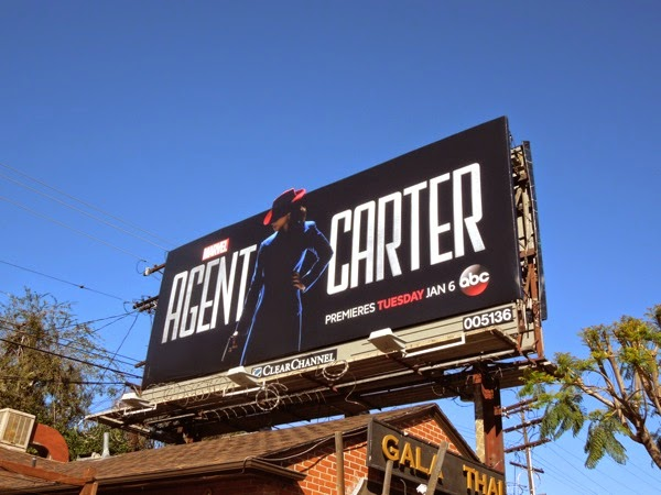 Marvel Agent Carter season 1 billboard