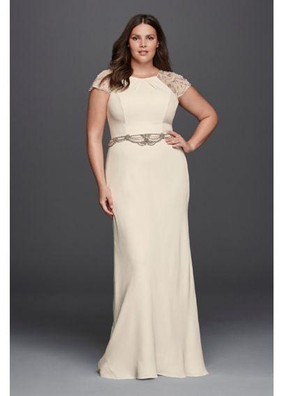 vestidos de novia para gorditas con cola larga