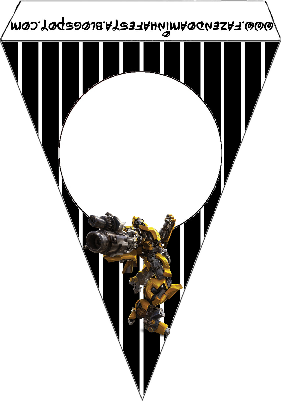 transformers free party printables