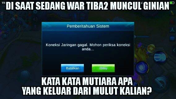 12 Meme \u002639;Mobile Legend\u002639; Ini Bikin Gamer Lupa Segalanya ~ Kumpulan Jokes: Gambar, Video \u0026 Cerita Lucu
